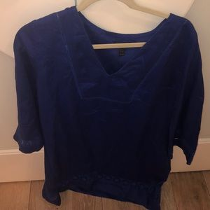 NWT Jcrew Blue Swim Coverup